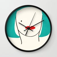 Teal Ambition Wall Clock