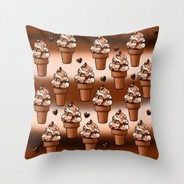 Ice cream dream Throw Pillow
