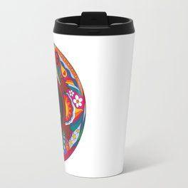 PsychedelicTurtle Yin Yang Travel Mug
