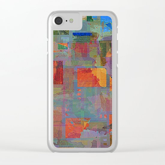 the patch Clear iPhone Case