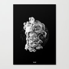 Sculpture Head II Canvas Print