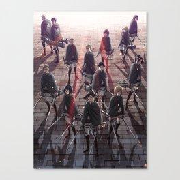 Shingeki Canvas Print