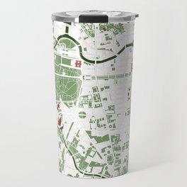 Berlin city map minimal Travel Mug
