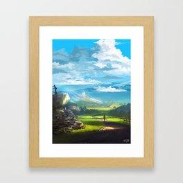 Road to the Promised Dream Framed Art Print