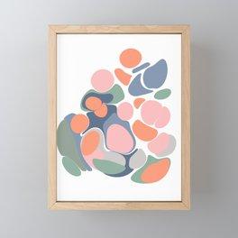 Abstract Shape Flower Art Framed Mini Art Print
