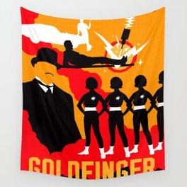James Bond Golden Era Series :: Goldfinger Wall Tapestry