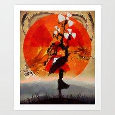 umbrellaliensunshine: natures' beautiful beasts Art Print