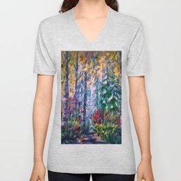 Deep in the Woods Unisex V-Neck