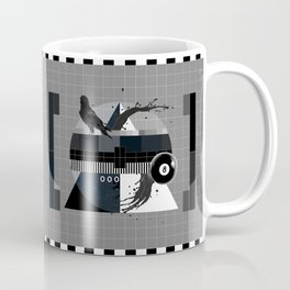 Waiting for the show to begin (Test Pattern 3) Coffee Mug