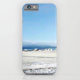 Blue roof iPhone Case