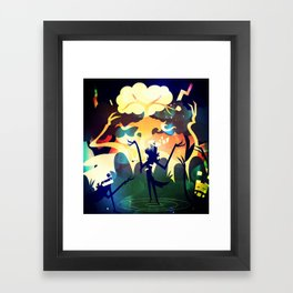 The Eyes See Framed Art Print