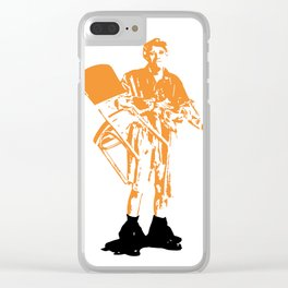 Jerk Clear iPhone Case