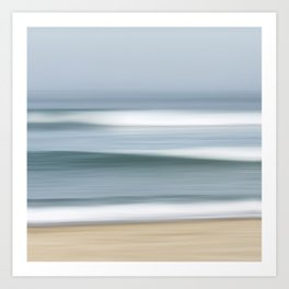 Fog Waves Art Print