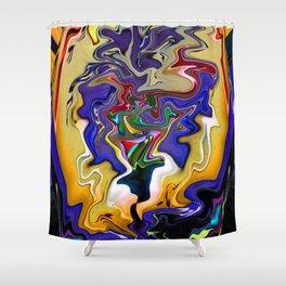 Easter Bonnet Woman Shower Curtain