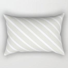 Ice Diagonal Stripes Rectangular Pillow