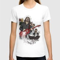 foo fighters T-shirts featuring Foo Fighting by Jaimie