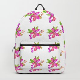Hello Darling Flower Backpack