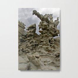 Fantasy Canyon Metal Print