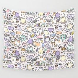 Artsy Cats Wall Tapestry