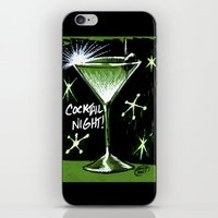 martini iPhone & iPod Skins featuring Martini  by David Miley