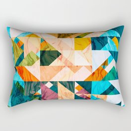 Geometric III Rectangular Pillow