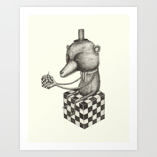 'Puzzle' Art Print