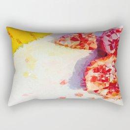 Frutas Geométricas Rectangular Pillow