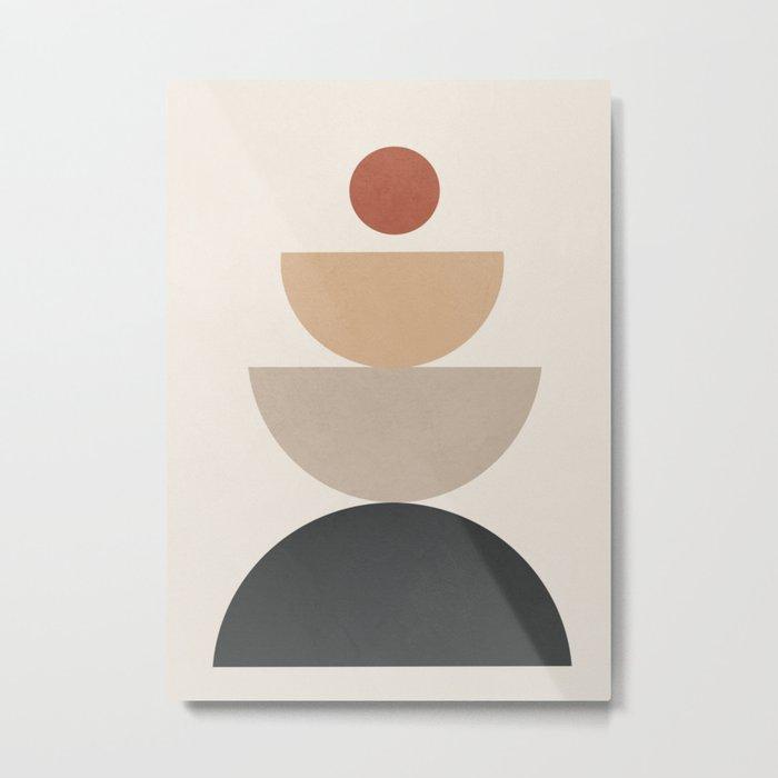 Geometric Modern Art 31 Metal Print