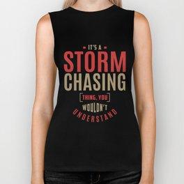 Storm Chasing Thing Biker Tank