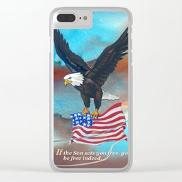Free Indeed Clear iPhone Case