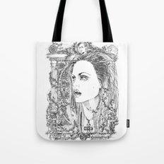 vampire Pam Tote Bag