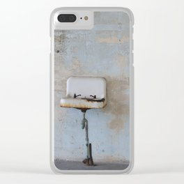 Old Sink Clear iPhone Case