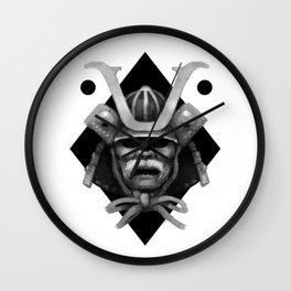 Kabuto Wall Clock