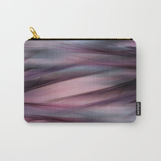 Soft Hazy Mauve Abstract Carry-All Pouch