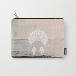 Your Vibe Attracts Your Tribe - Pacific Ocean Carry-All Pouch