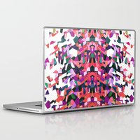 beethoven Laptop & iPad Skins featuring Beethoven abstraction by Laura Roode