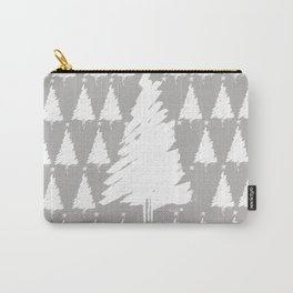 snow on a Xmas tree Carry-All Pouch