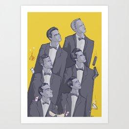 oo7's Art Print