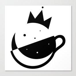 Self-Care Queen - Black Canvas Print