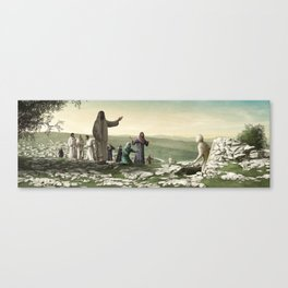 The Raising of Lazarus (O Death, Where is Thy Sting?) Canvas Print