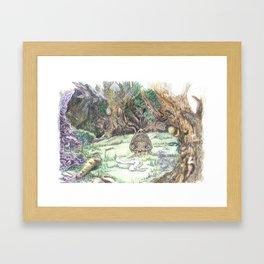 RHX Forest Logo Framed Art Print