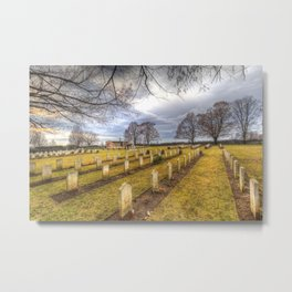 World War 2 War Graves Budapest Metal Print