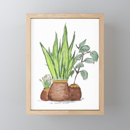 """The Baddest Bitches"" Framed Mini Art Print"