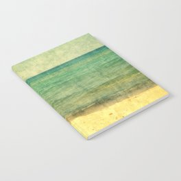 Seascape Vertical Abstract Notebook