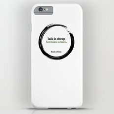 Quote About Listening and Success Slim Case iPhone 6 Plus