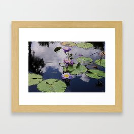 As Happy As You Choose Framed Art Print