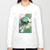bug Long Sleeve T-shirts featuring Bug by Falko Follert Art-FF77