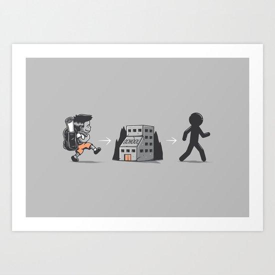 Standardization Art Print