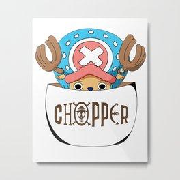 Cute Chopper - One Piece Anime Metal Print