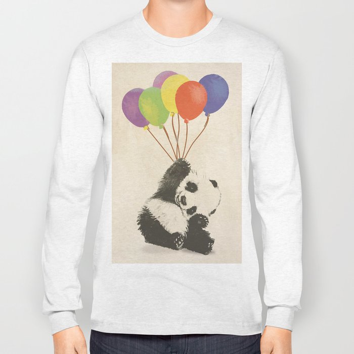 Fly Away Panda Long Sleeve T-shirt